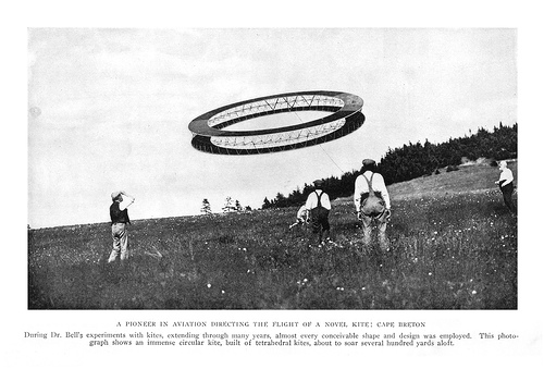 Alexander Graham Bell's Flying Machine