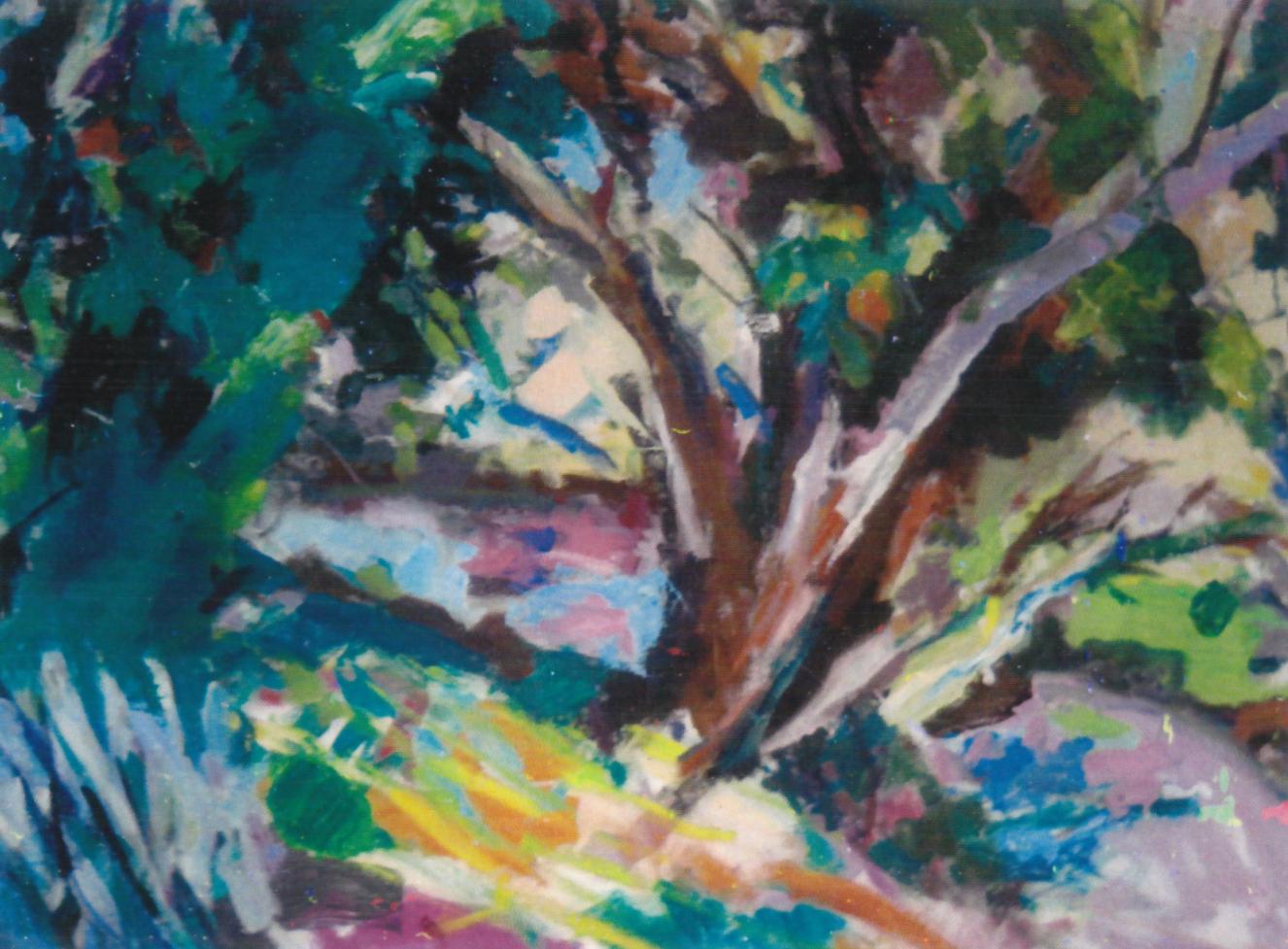 Louis Finklestein Trees by Water