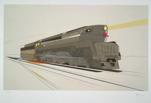 Lowey Train Drawing