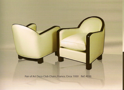 Art-deco chairs