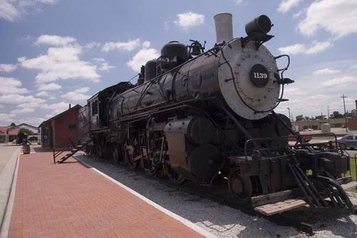 1930s steam engine