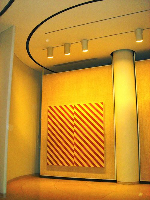 Glass House art gallery interior 1