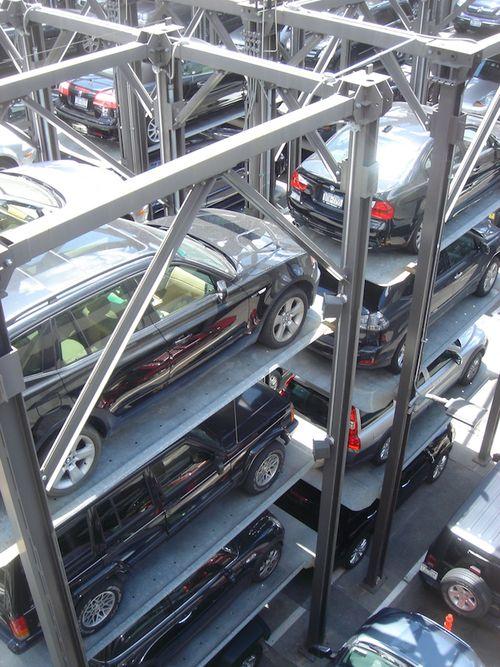 Highline car storage