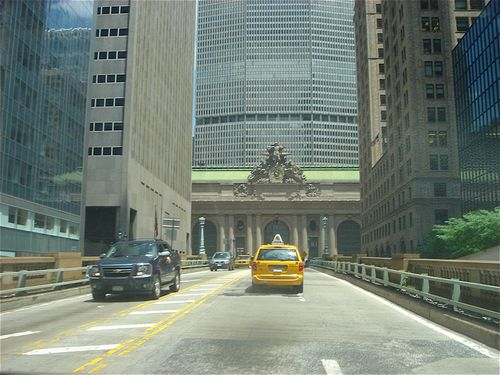 Approaching grand central