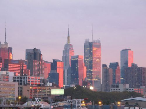 Afterglow over Manhattan