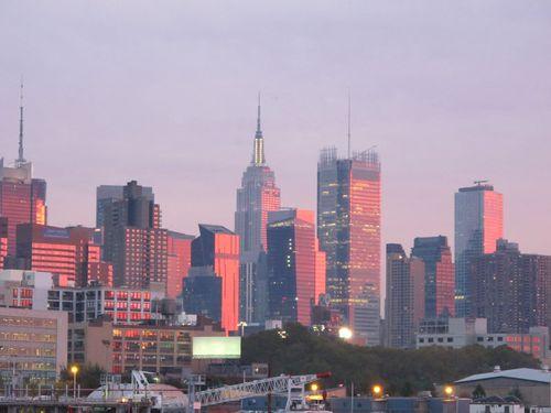 Afterglow over Manhattan