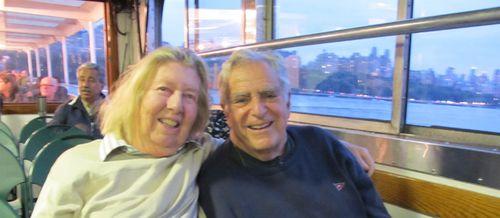 Vladi & Erica on Ferry