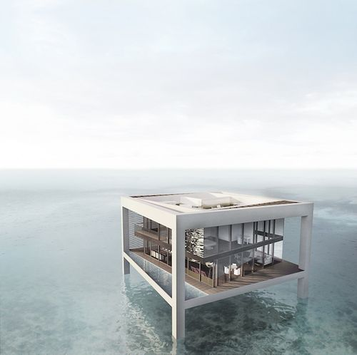 Nurai floating house