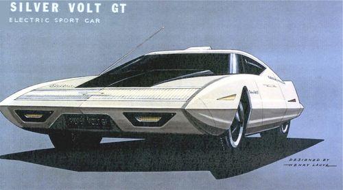 Silver Volt GT