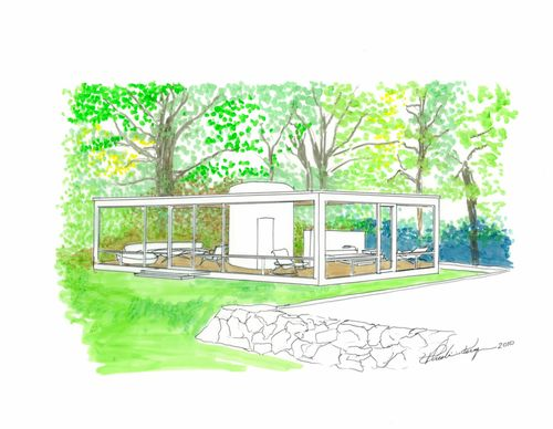 Glass House over-view