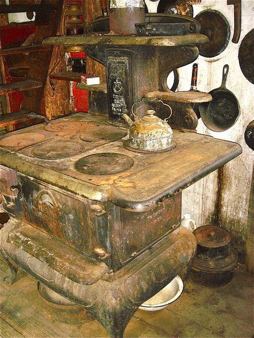 Raoul Hague interior stove