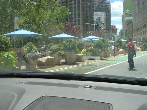 Pedestrian park 26 st