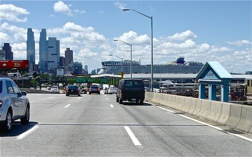 West side highway cruise ship