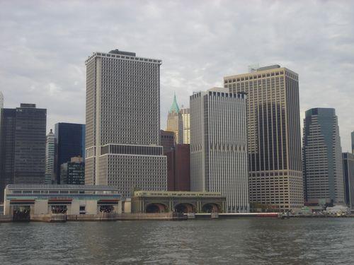 Ferry Slips tip of Manhattan