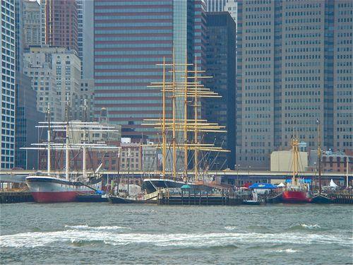 South St. Sea Port Clipper ships