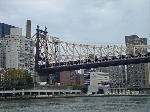 Queensboro Bridge w: City