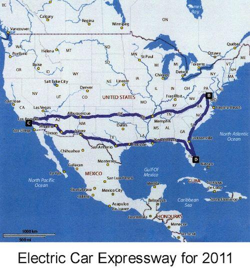 Electric Car Expressway 2011