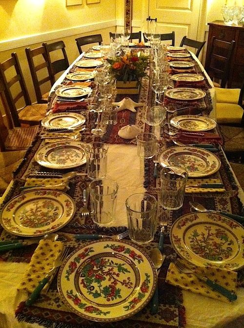 The perfect table setting 1