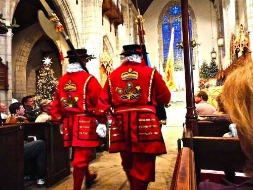 Beefeaters from back