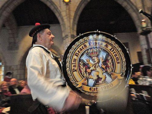 Pipe Band Drummeer