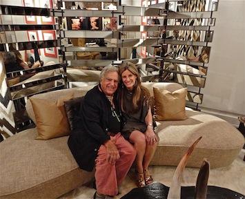 Me with designer