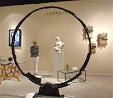 Ring Sculture in gallery