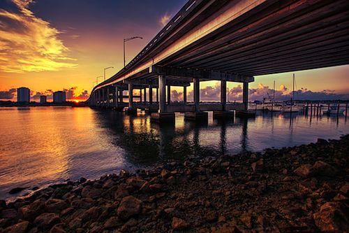 Blue-heron-brodge-singer-island-florida-sunrise
