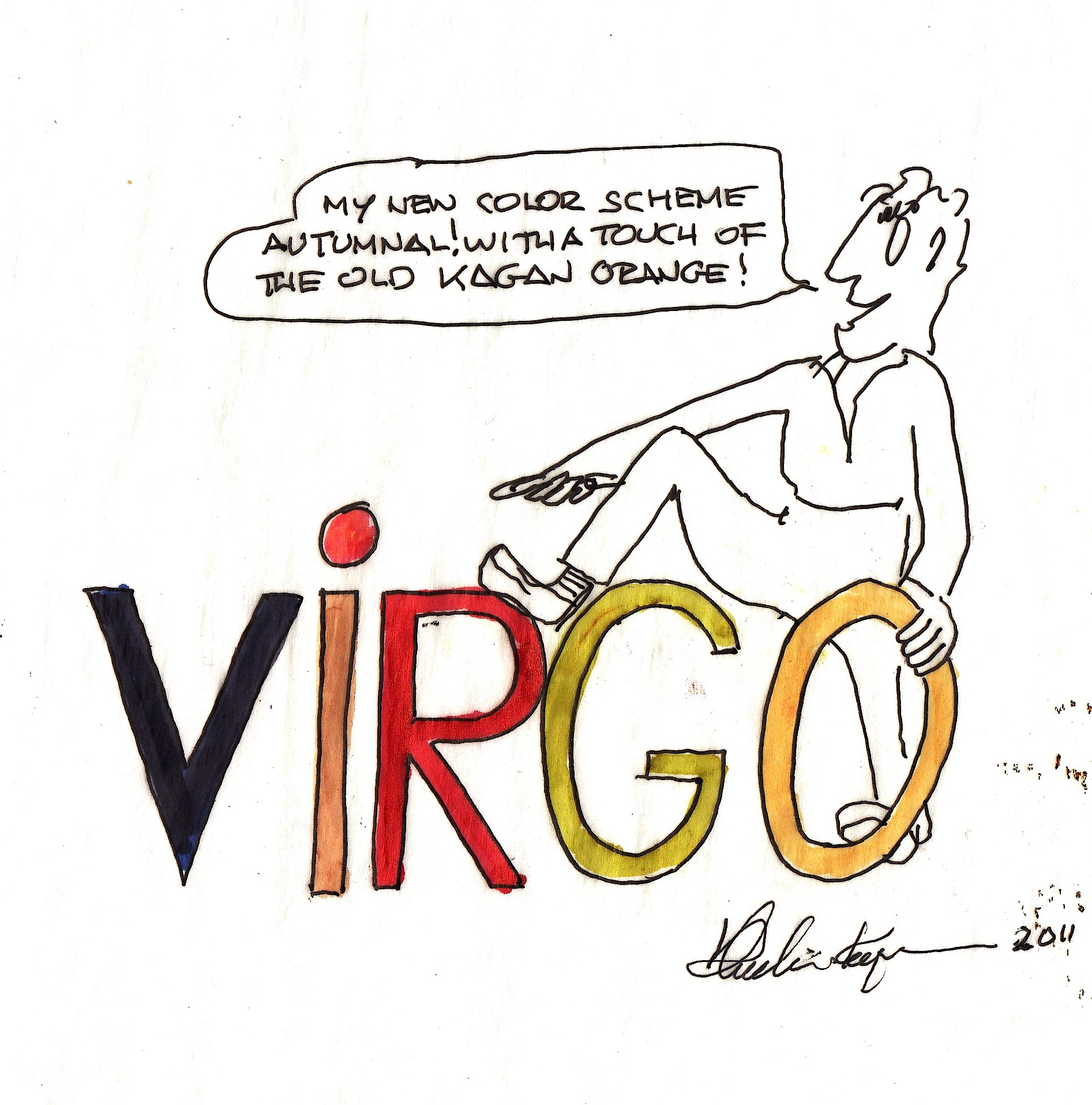 my horoscope and how i finally reached immortality vladimir  virgo cartoon
