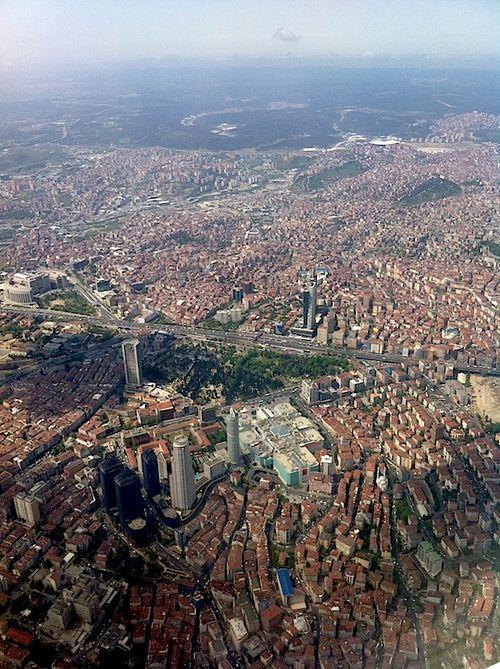 Arial shot Istanbul
