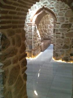 Hamam archway