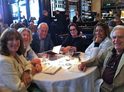 Lunch Zaha Hadid & Barracloughs