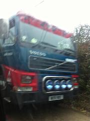 Truck passing 2