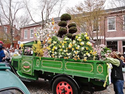 GREEN FLOWER TRUCK