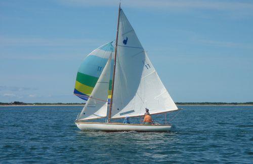 Me sailing Indian 1