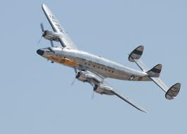 Constelation airplane