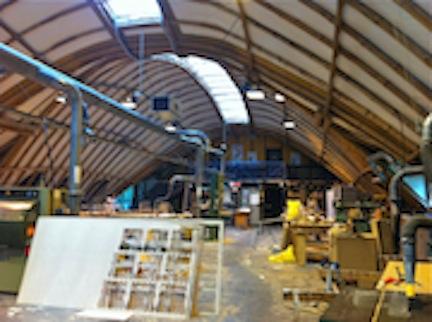 Work shop interior