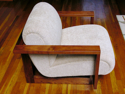 CUBIST CLUB CHAIR 2