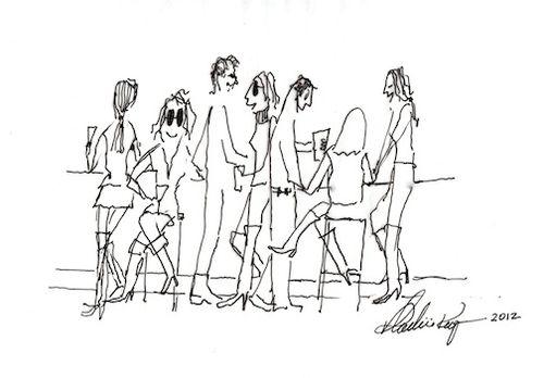 Gstaad Cartoon