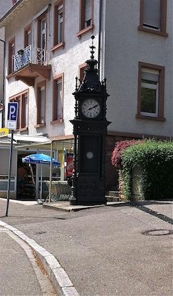 Baden baden clock