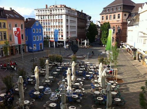 Obermarkt cafes