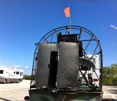 Airboat Rudder