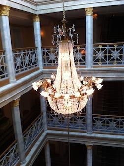 BASEL HOTEL CHANDELIER 1