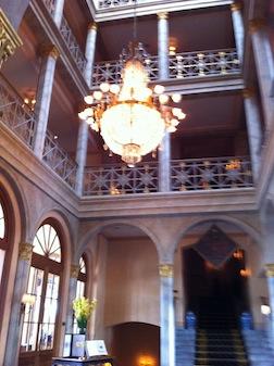 BASEL HOTEL CHANDELIER 2
