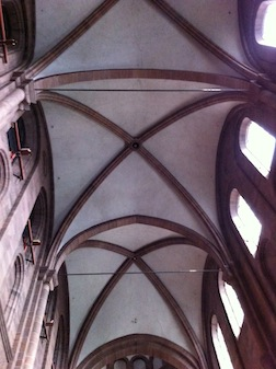Dom ceiling
