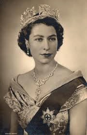 EARLY PICTURE AS QUEEN