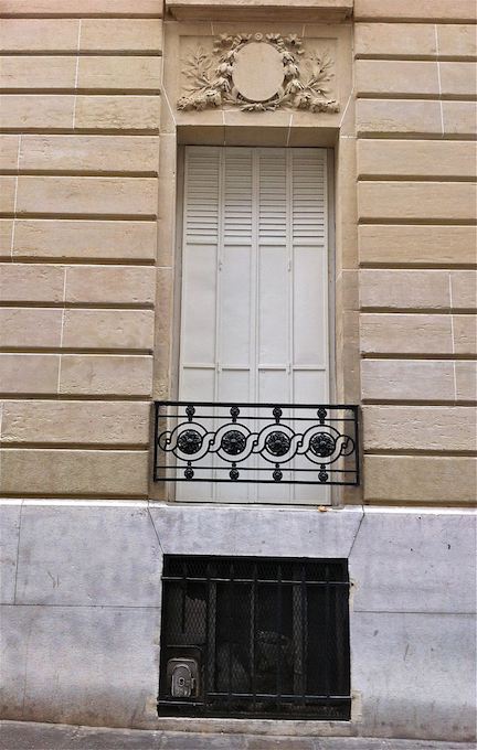 Balcony single window