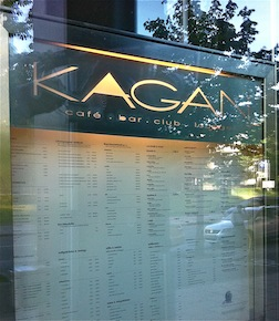 Kagan club sign