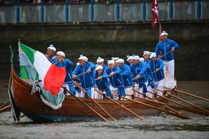 Irish rowing team