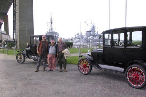 Ian, Peter, Vladi Battleship&cars