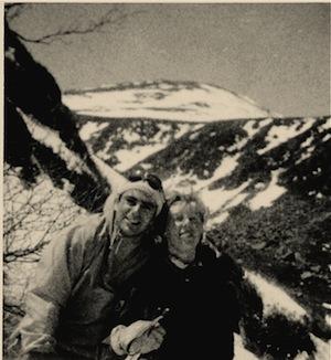 Vladi & Erica Mt. Washington 1957